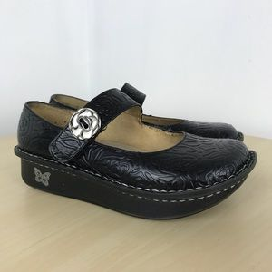 Alegria black maryjane professional nursing shoes